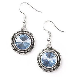 Blue earrings paparazzi